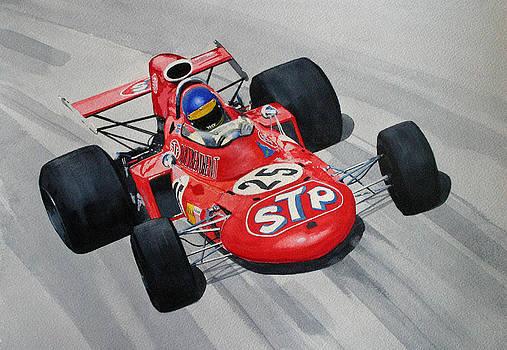 Ronnie Peterson  Monza by Steve Jones