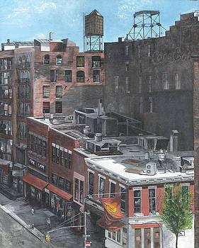 Roof Tops NY NY by Stuart B Yaeger