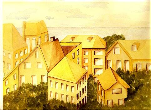 Roofs and Windows by Constance Larimer
