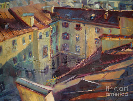 Roofs of Leningrad by NatikArt Creations