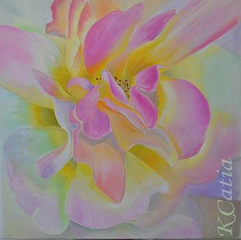 Rose Bleue by Katia Creole Art