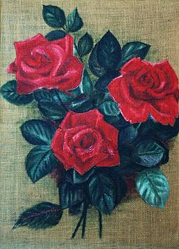 Roses by Camelia Apostol