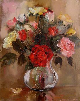 Roses by Nelya Shenklyarska
