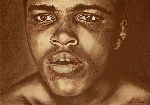 Round 1 Cassius Clay by FND Myks