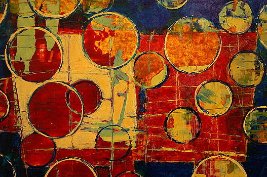 Rounding Spot Red  by Janet Moore
