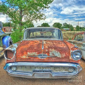Route 66 Oldsmobile by John Kelly