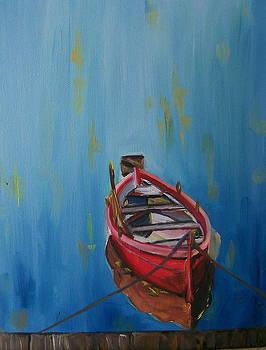 Row Boat by Barbara Ruzzene