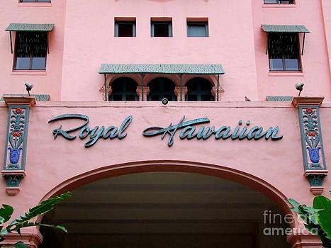 Mary Deal - Royal Hawaiian Hotel Entrance Arch