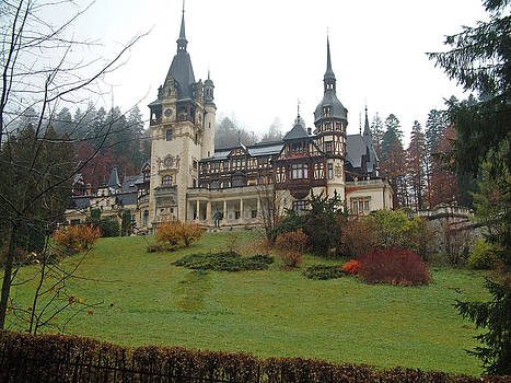 Royal Peles Castle Sinaia Romania by Mircea Veleanu