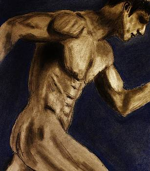 Running Man by Michael Cross