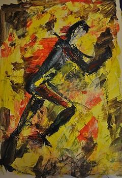 Running by Valeria Giunta