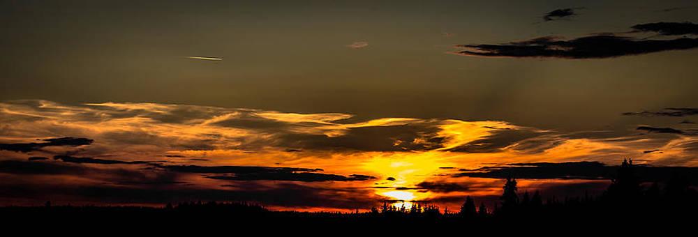 Rural Sunset by Matti Ollikainen