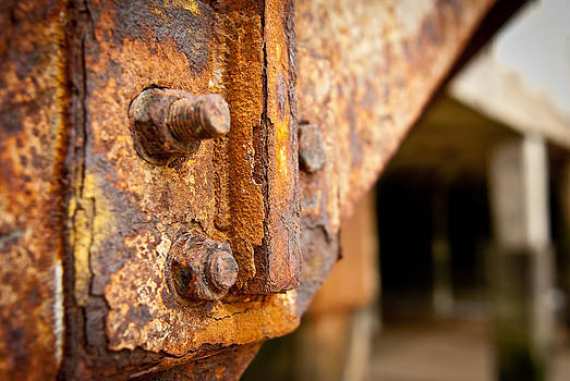 Rusty Pier by Andy Comber