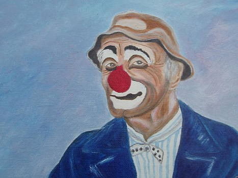 Sad Clown by Arlene Gibbs