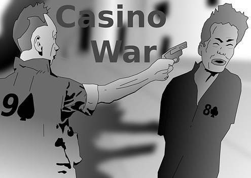 Saigon Execution Casino War by Casino Artist