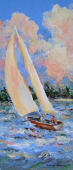 Sailing III by Holly LaDue Ulrich