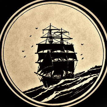 Sailing Vessel by Susan Leggett