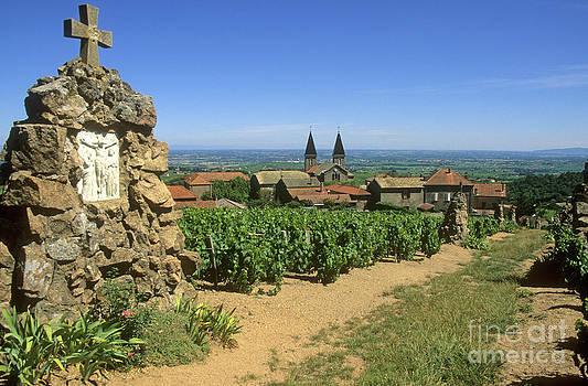 BERNARD JAUBERT - Saint Joseph en Beaujolais. France