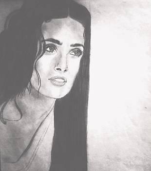 Salma Hayek by Elle Ryanoff