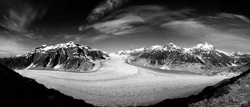 Salmon Glacier Pano by Brandon Broderick