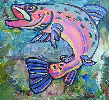 Salmon by Krista Ouellette