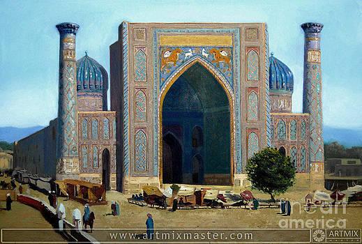 Samarkand by Sohib Razzakov