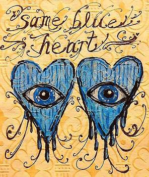 Same Blue Heart by Nancy Mitchell