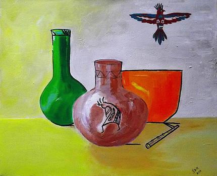 San Antonio1 by Gloria Dietz-Kiebron
