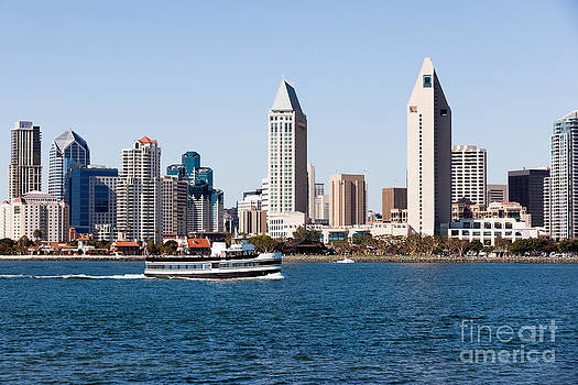 Paul Velgos - San Diego Skyline and Tour Boat
