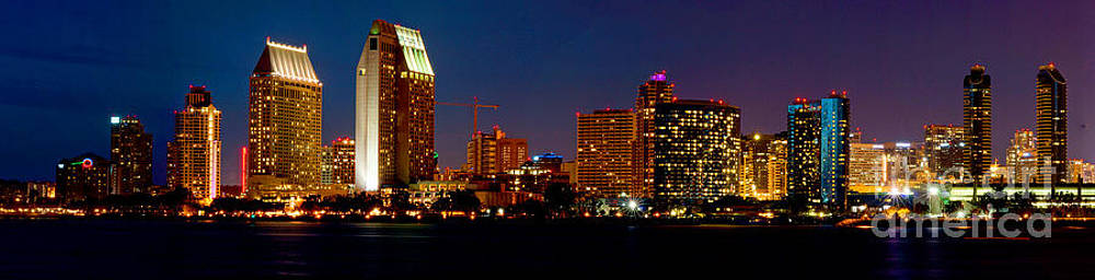 San Diego Skyline by Wendy Emel