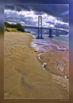 Blake Richards - San Francisco Bay Bridge And Beach