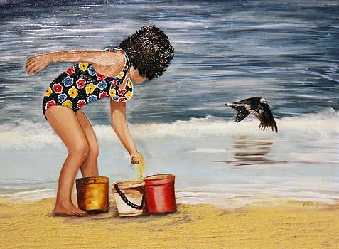 Sandy Fun by Ann Iuen