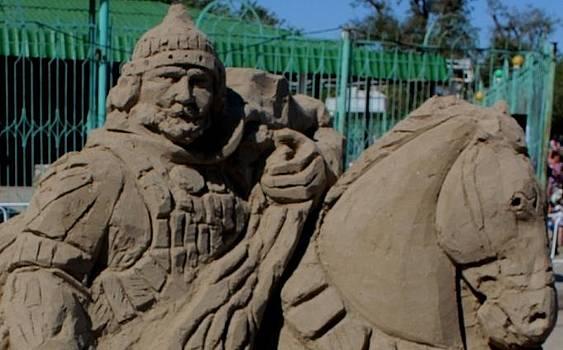Sandy sculpture  by Vit