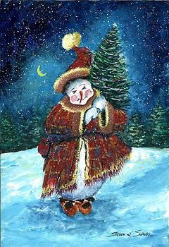Santas Helper by Steven W Schultz