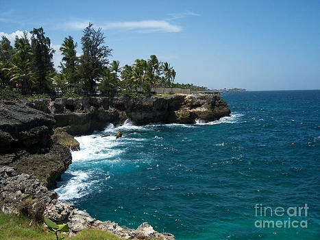 Heather Kirk - Santo Domingo Coastal View.