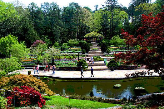 Sarah Duke Gardens by Bob Whitt