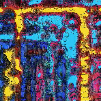 Saturday Abstract Composition by Rod Saavedra-Ferrere