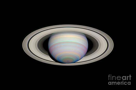 Space Telescope Science Institute / NASA - Saturn With Its Rings At Maximum Tilt