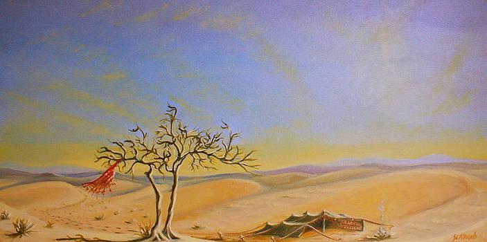 Yvonne Ayoub - Saudi Desert Bedouin Tent