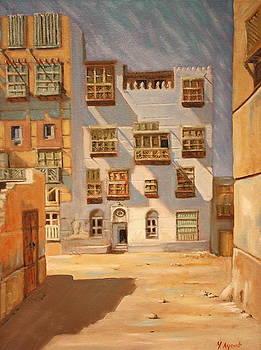 Yvonne Ayoub - Saudi Old Jeddah 01