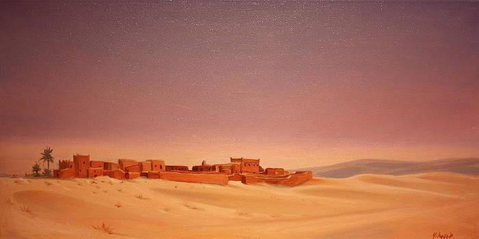 Yvonne Ayoub - Saudi Village Yamama