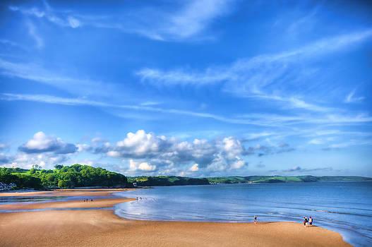 Steve Purnell - Saundersfoot Beach Painted