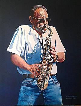 Saxophone by Tim Johnson