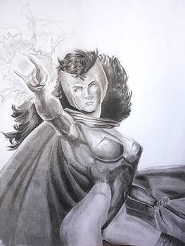 Scarlet Witch by Luis Carlos A