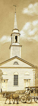 Scituate Congregational Church by Cate McCauley