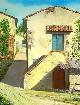 scorcio di paese  Bibbiano by Sandro  Mulinacci