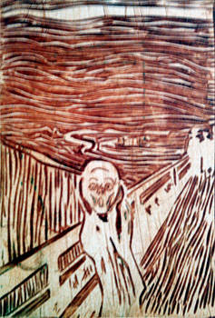 scream by Edvard Munch by Branko Jovanovic