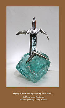 Sculptures of Bullets by MBL Binlamin