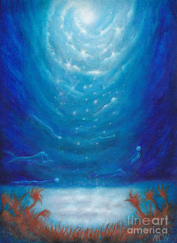 Sea Galaxy by Michelle Cavanaugh-Wilson