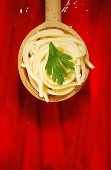 Sea of ketchup by Alexandra-Flaminia Boc